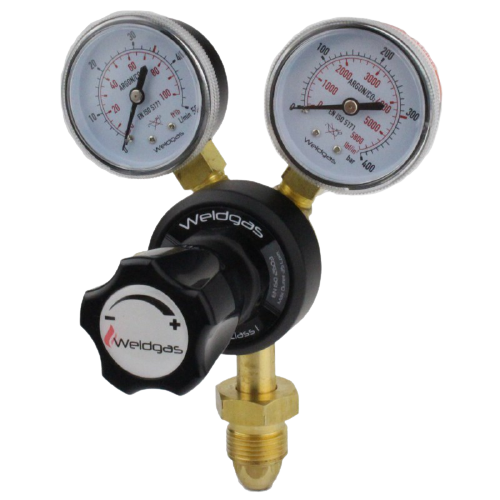 Oxygen 2 Gauge, Single Stage Regulator